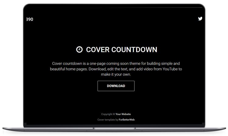 cover countdown under construction website template fastcode space