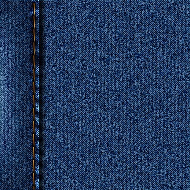 Blue Denim Texture Jeans Background Vector Illustration Fastcode Space